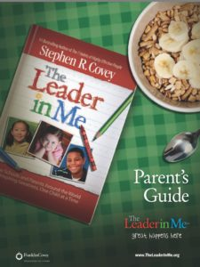 Photo of Leader In Me Parent Guide