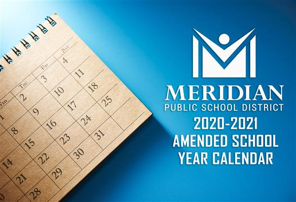 2020-2021 Amended School Year Calendar