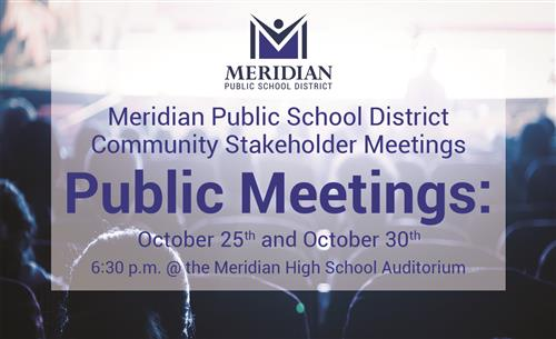 MPSD Public Stakeholder Meetings