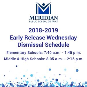 Early Release Wednesday Schedule