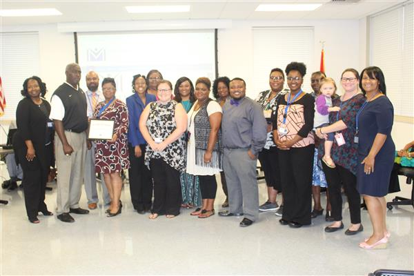 Magnolia Middle School honored as a successful school