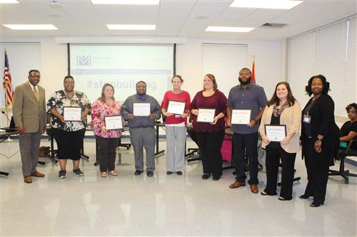 MPSD teachers honored for receiving advanced degrees