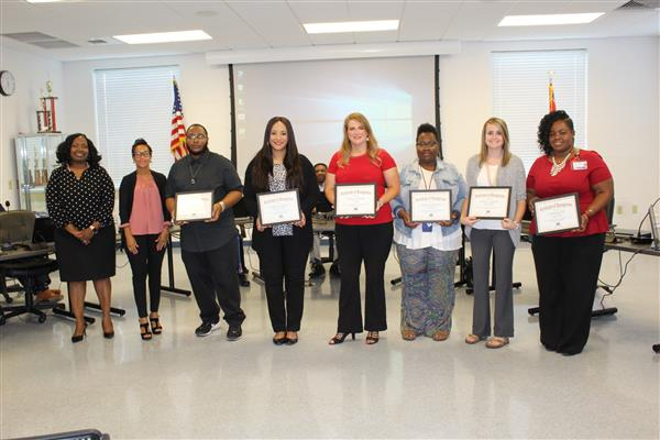 September Board Recognitions