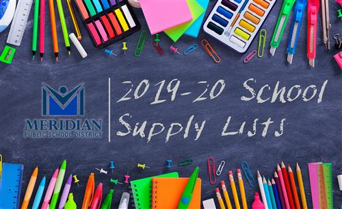 MPSD School Supply Lists