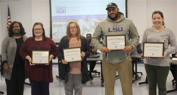 MPSD teachers recognized at November board meeting