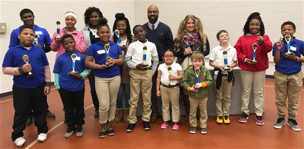 MPSD 1st Place District Reading Fair Winners