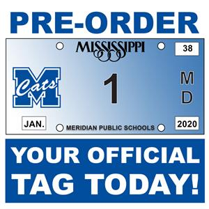 Pre-Order Your Official Wildcat Car Tag Today!