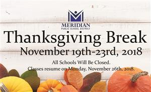 MPSD Thanksgiving Break