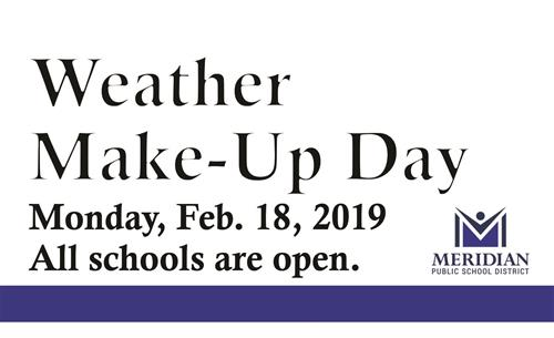 MPSd Weather Make-Up Day