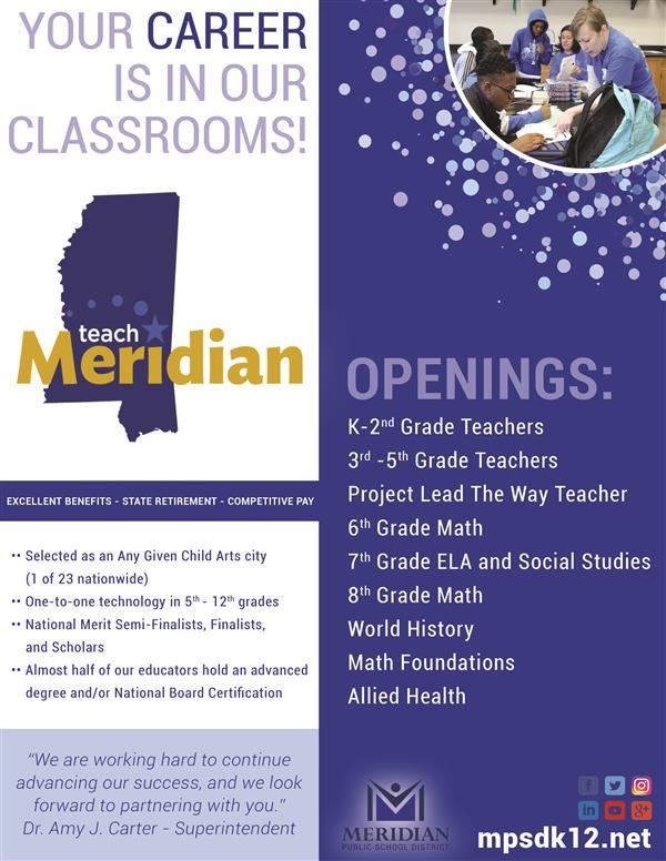 Teach Meridian Flyer