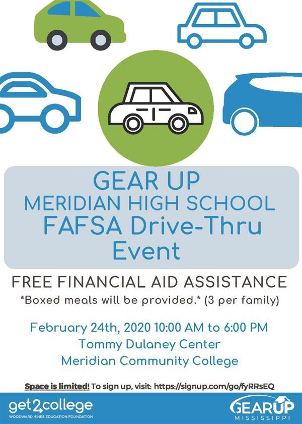 MHS and GEARUp Drive-Thru Image