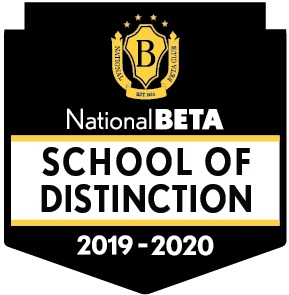 National Beta School Of Distinction Logo