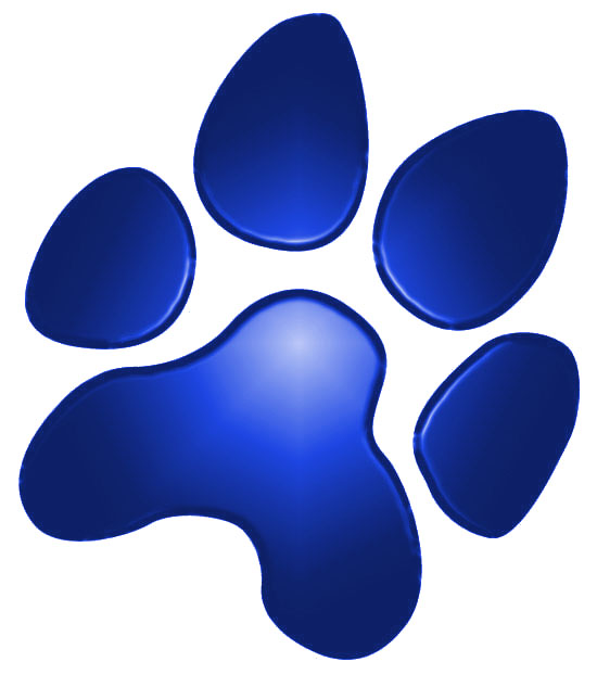 Image of Blue Wildcat Paw